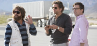 "STILL FRIENDS: Zach Galifianakis, Bradley Cooper and Ed Helms return for ""The Hangover Part III."""